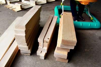 Istruzioni passo passo per costruire una scarpiera utilizzando pallets9