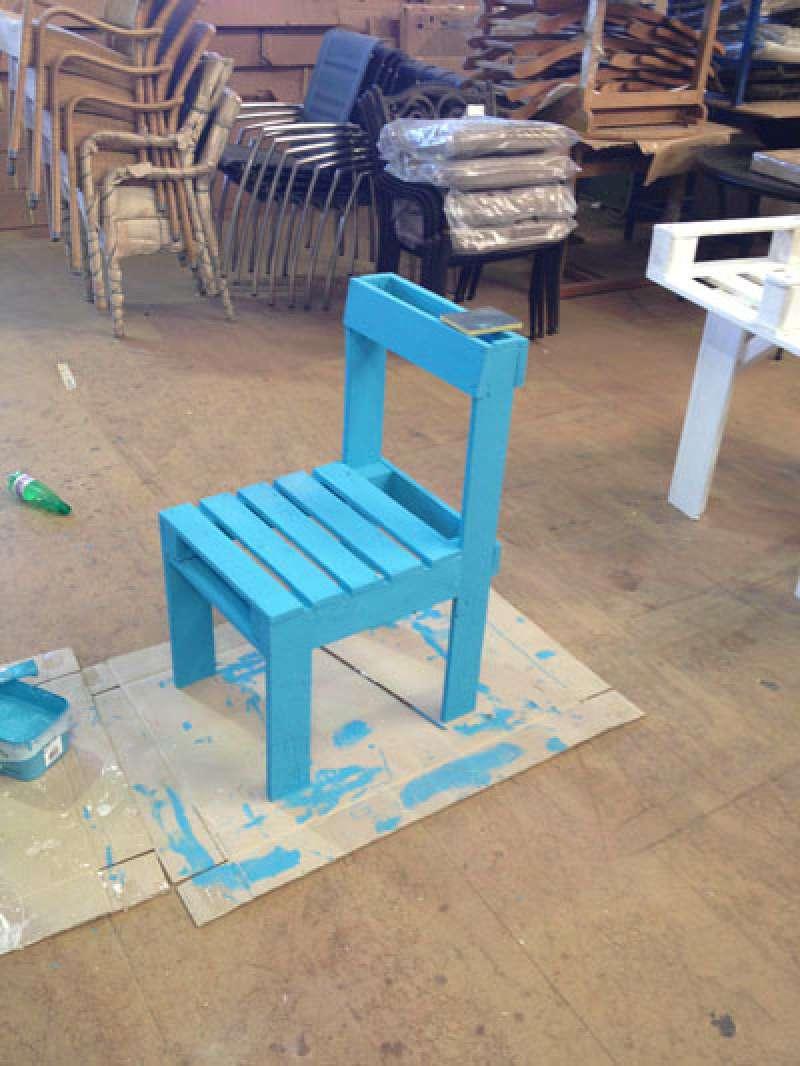 Le istruzioni per costruire una sedie con un solo for Costruire un nuovo processo di prestito a casa