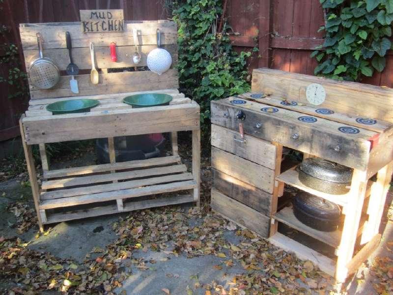Le istruzioni per costruire una cucina gioco con palletMobili con ...