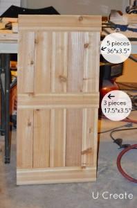 Le istruzioni per creare un rack mobili pallet per il bagno3