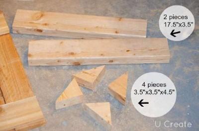 Le istruzioni per creare un rack mobili pallet per il bagno4