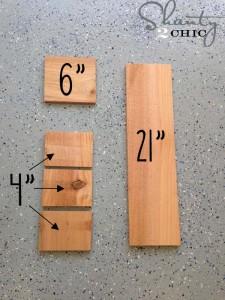 Le istruzioni per fare un apribottiglie con pallet2