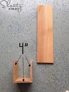 Le istruzioni per fare un apribottiglie con pallet3