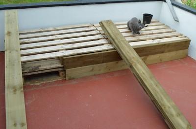 Le istruzioni su come fare un divano per la terrazza con palletmobili con pallet mobili con pallet - Divano pallet istruzioni ...