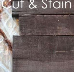 Le istruzioni su come fare un murale in legno di Natale con pallet5