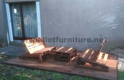 Migliora il tuo giardino con solo alcuni pallet di legno2