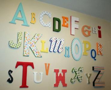Progettare e costruire una lettera decorativo con tavole pallet1