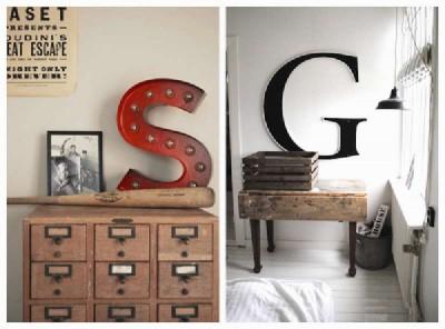 Progettare e costruire una lettera decorativo con tavole pallet2