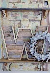 Progettare e costruire una lettera decorativo con tavole pallet9