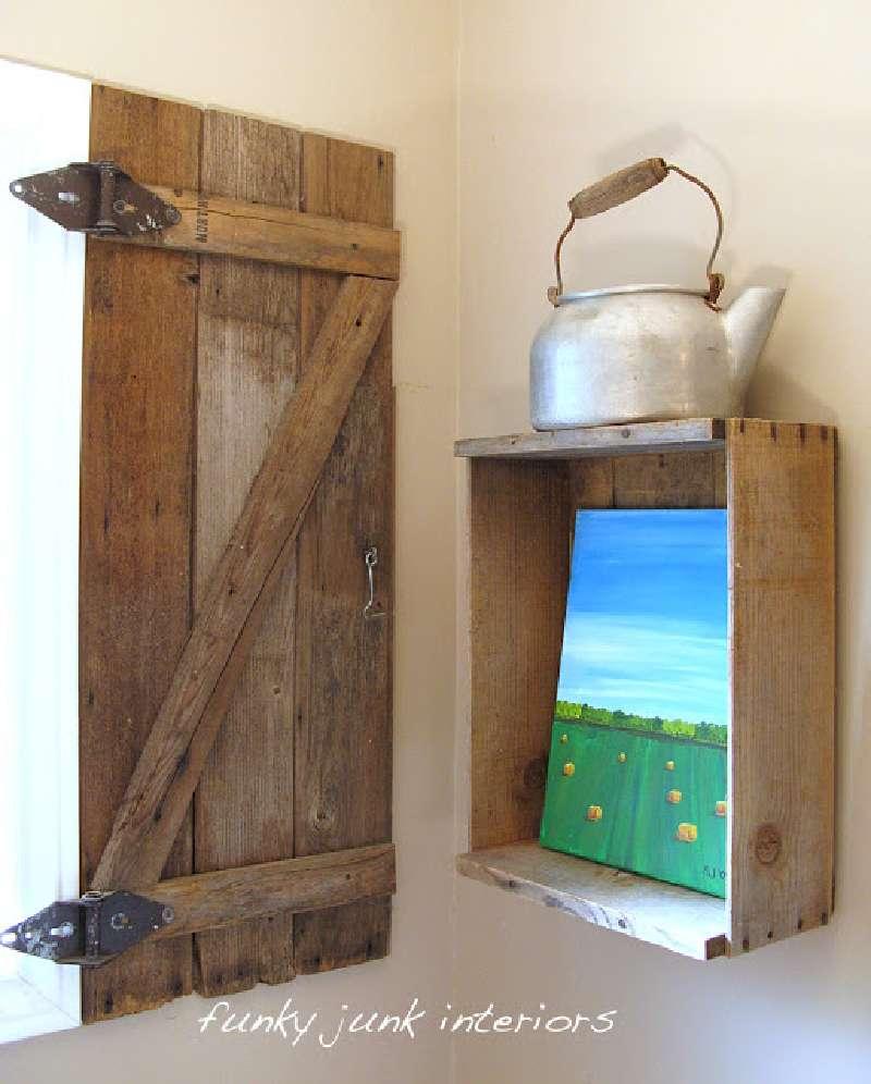 costruire una persiana rustica per il vostro bagno con tavolo palletmobili con pallet mobili con pallet