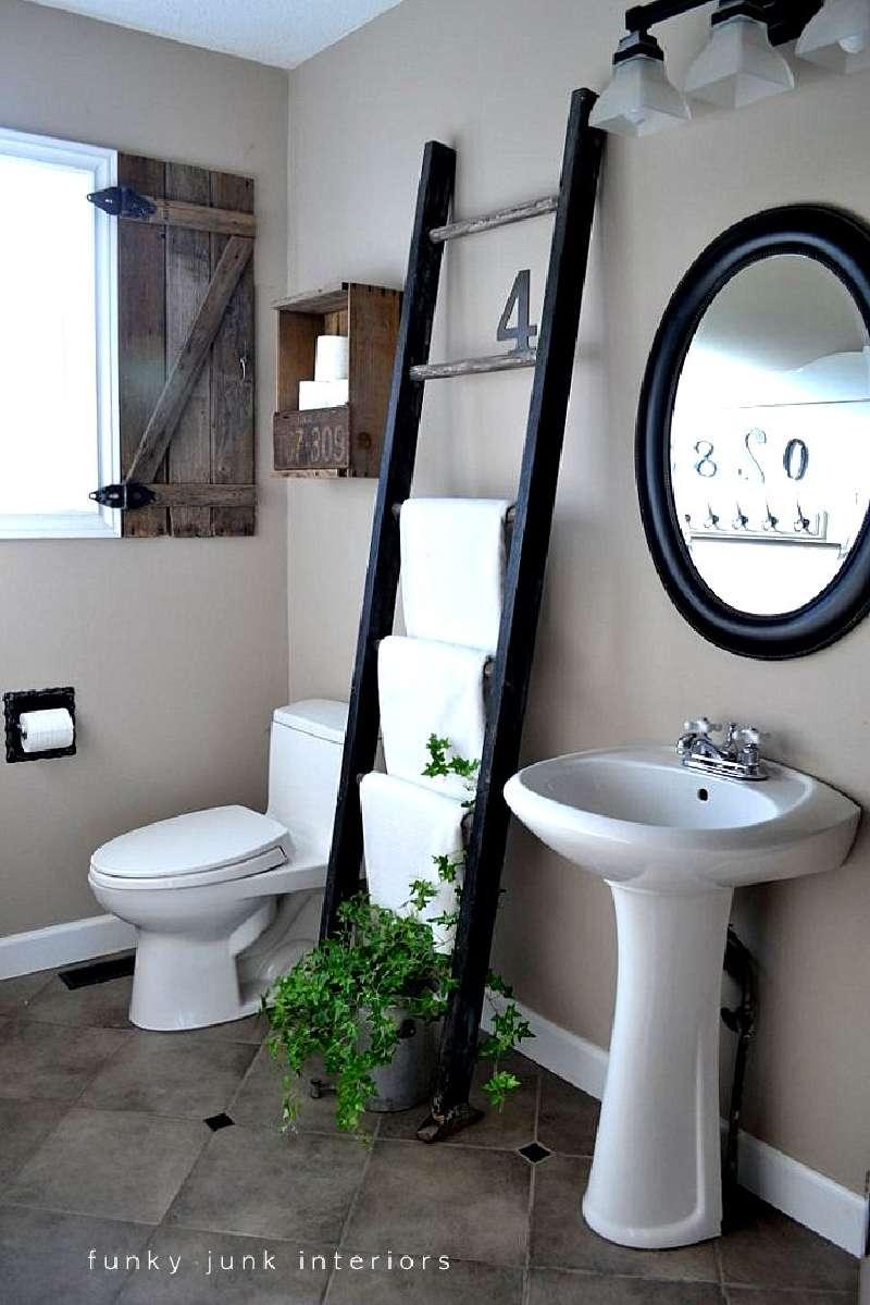 Costruire una persiana rustica per il vostro bagno con - Mobili a persiana ...