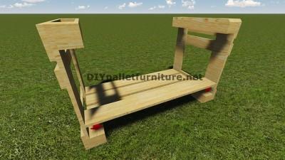Istruzioni e piani per costruire un barbecue con i pallet passo dopo passo 5