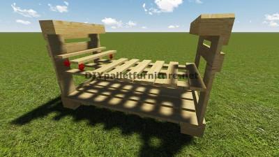Istruzioni e piani per costruire un barbecue con i pallet passo dopo passo 6