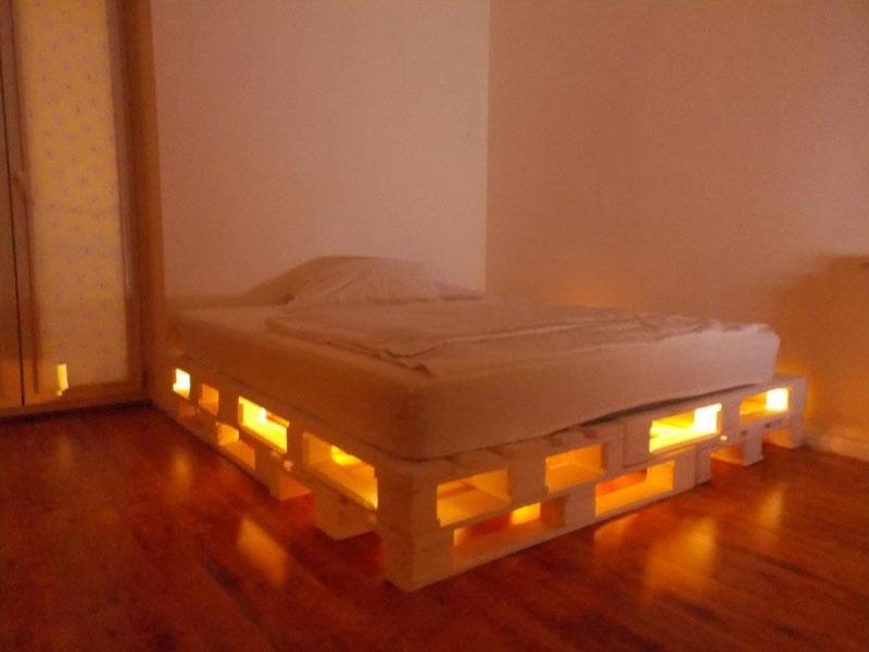 Costruire letto con pallet