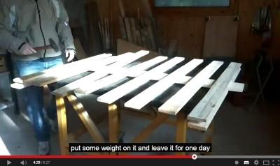 Video di come fare un albero di Natale con i pallet