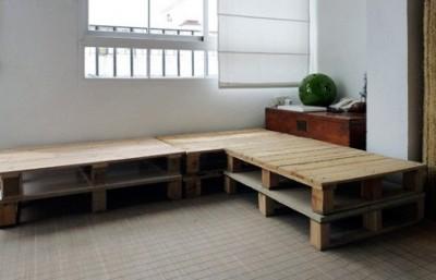 Costruire un divano pallet in soli 3 semplici passi 1