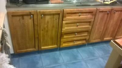 Mobili da cucina Ristrutturato con tavole pallet 1