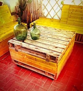 Tavolo baule realizzato con pallet 2