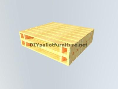 Tavolo baule realizzato con pallet 3