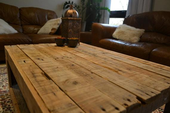tavolo con pallet mobili con pallet : Tavolo rustico realizzato con palletMobili con Pallet Mobili con ...