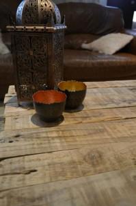 Tavolo rustico realizzato con pallet 3