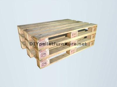 Guida di costruire una doppia sede utilizzando pallets 2