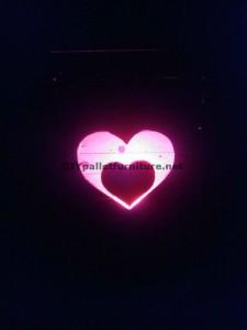 Lampada Valentine fatta con pallets 7