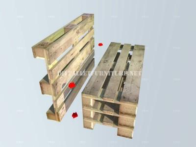Come fare una panchina con pallet passo dopo passomobili for Como hacer muebles con palets paso a paso