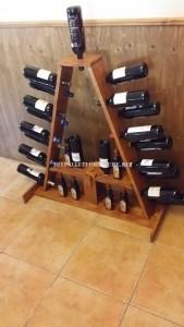 Wine Rack opzioni realizzati con pallet 2