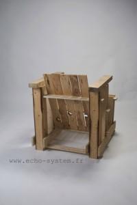 Echo-system propone un design molto particolare per una poltrona con pallet 5