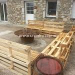 Gruppo sedie e tavolino per il giardino
