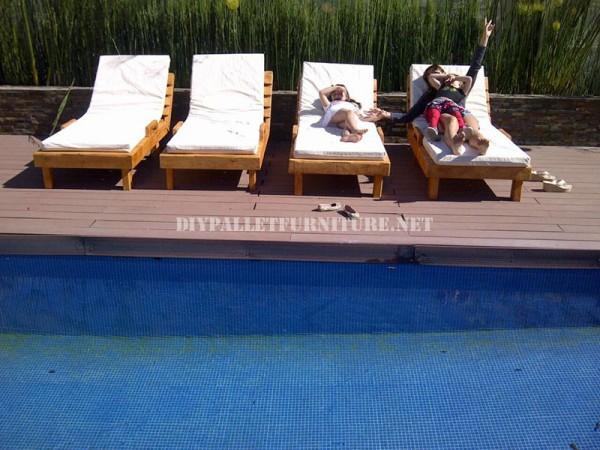 Esempi di pallet lettini per piscina 3