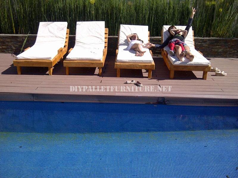 Mobili Da Esterno Per Piscina : Esempi di pallet lettini per piscina 3mobili con pallet mobili con