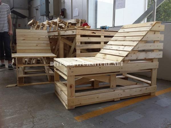 I piani per costruire una chaiselong pallet modulare 1