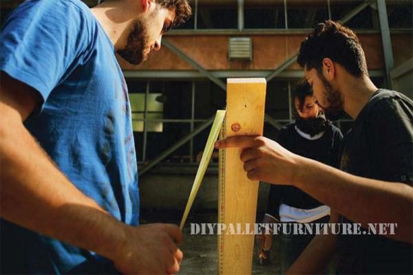 I piani per costruire una chaiselong pallet modulare 2