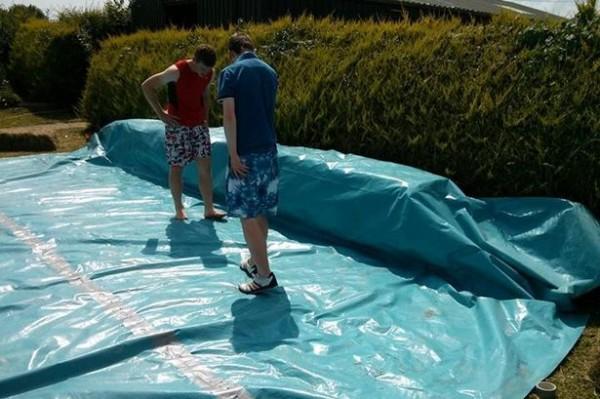 I piani per costruire una piscina con i palletmobili con for Piani di piscina gratuiti