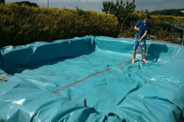 I piani per costruire una piscina con i pallet 4
