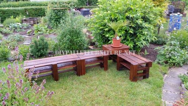 Panca Ad Angolo Per Cucina : Panca ad angolo per il giardino con i palletmobili con pallet