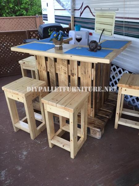 Barra con europalletmobili con pallet mobili con pallet for Mobilia uno furniture