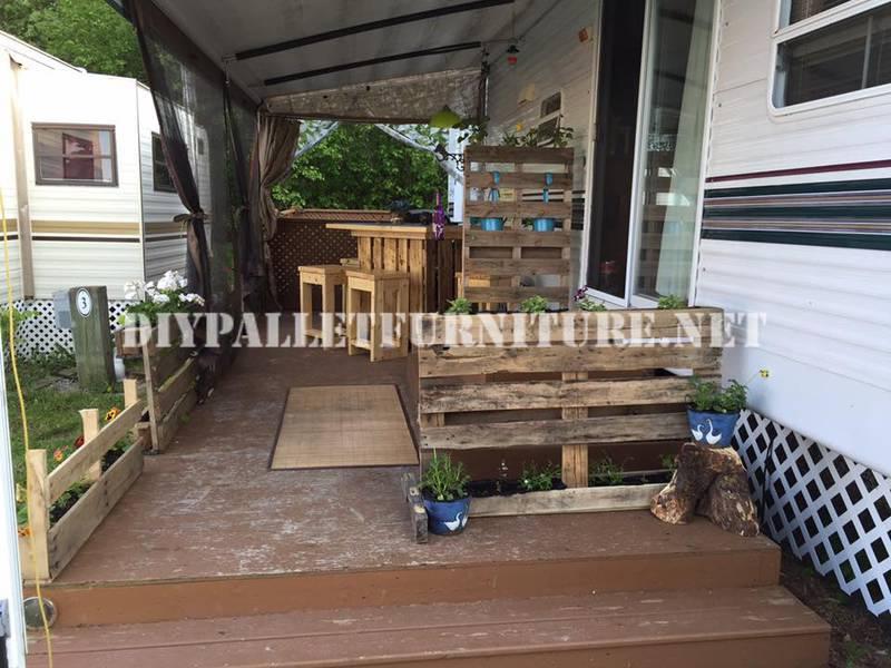 Come decorare la terrazza della vostra casa mobile con - Come decorare la casa ...