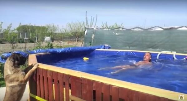 I video con le istruzioni per costruire una piscina con i pallet