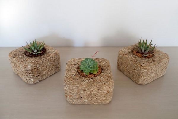 Indoor piccole fioriere realizzati con pallet 4