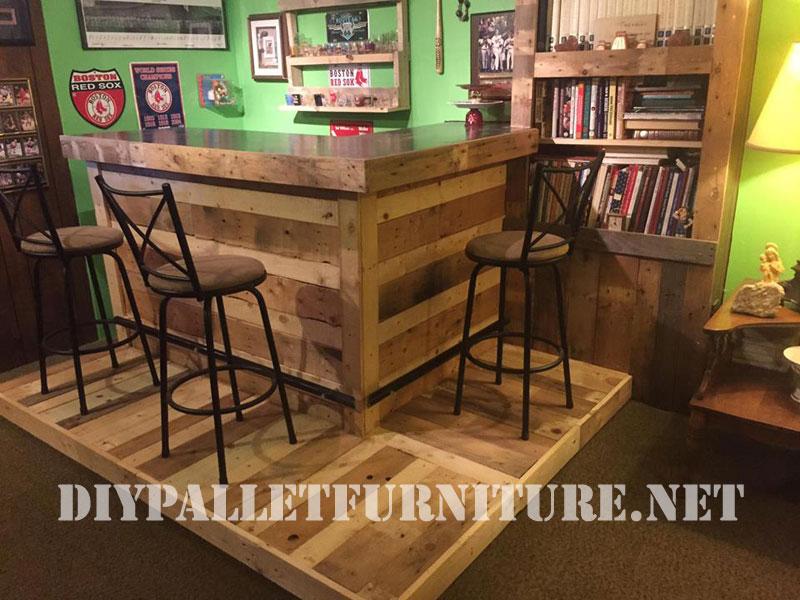 Bien connu Arredamento Pallet Bar ~ Ispirazione di Design Interni FF92