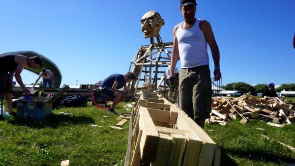 Ben Chiller, il gigante da Thomas Dambo 3