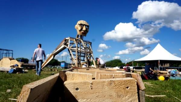 Ben Chiller, il gigante da Thomas Dambo 4