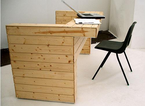 Divano, letto e scrivania, 3 pezzi di mobili in 1 3