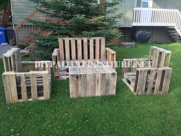Mobili Pallet per il giardino 1