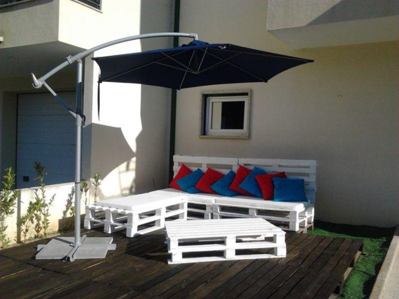 Terrazzo arredato con i palletMobili con Pallet | Mobili con Pallet