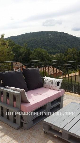 I divani pallets di Marie per la terrazza 3