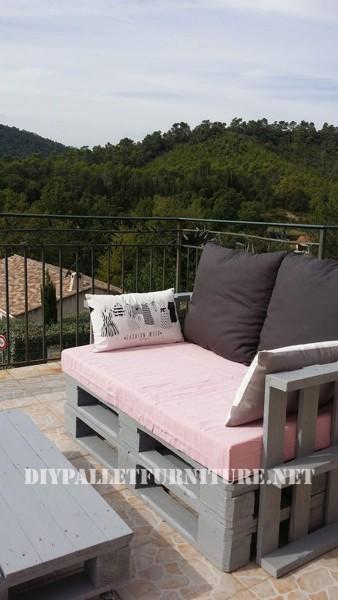 I divani pallets di Marie per la terrazza 4